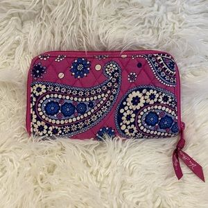 Vera Bradley Paisley Quilted Wallet
